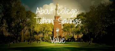 About College: Tuition, Savings & Value