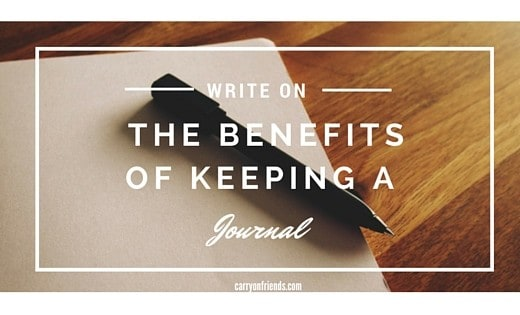 paper and pen The benefits of a journal