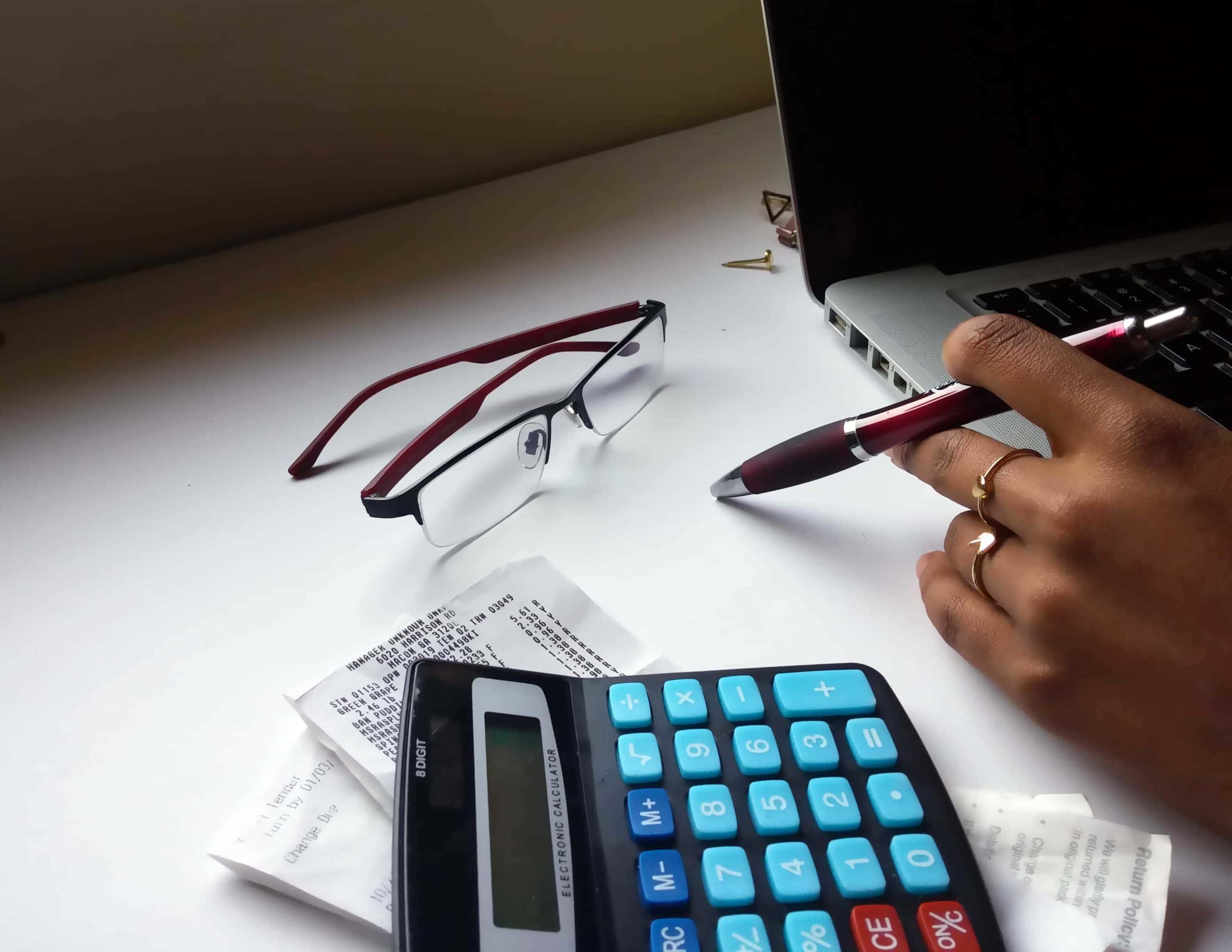 black-woman-at-laptop- finance