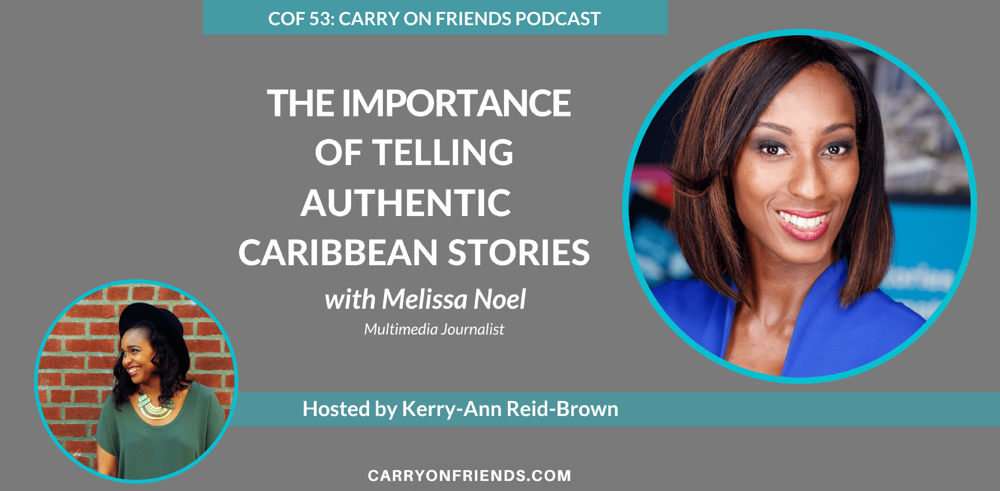 Melissa Noel on the Carry On Friends Podcast