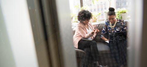 black women as friends in the office