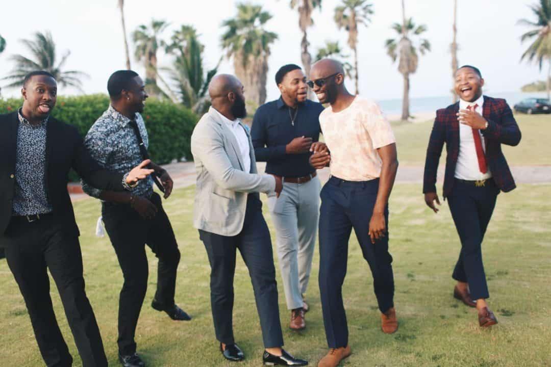 group of african american men