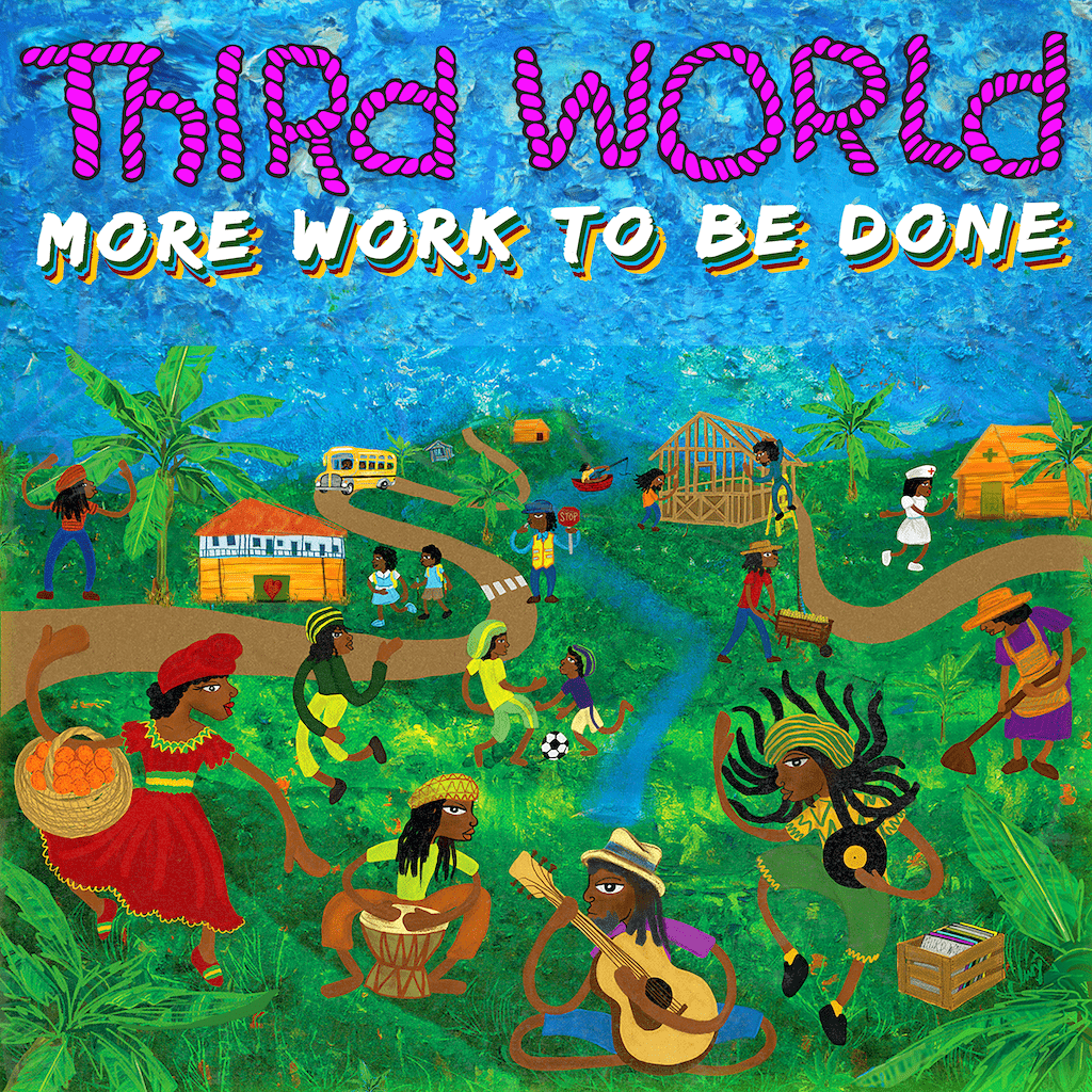 third world more work to be done album cover