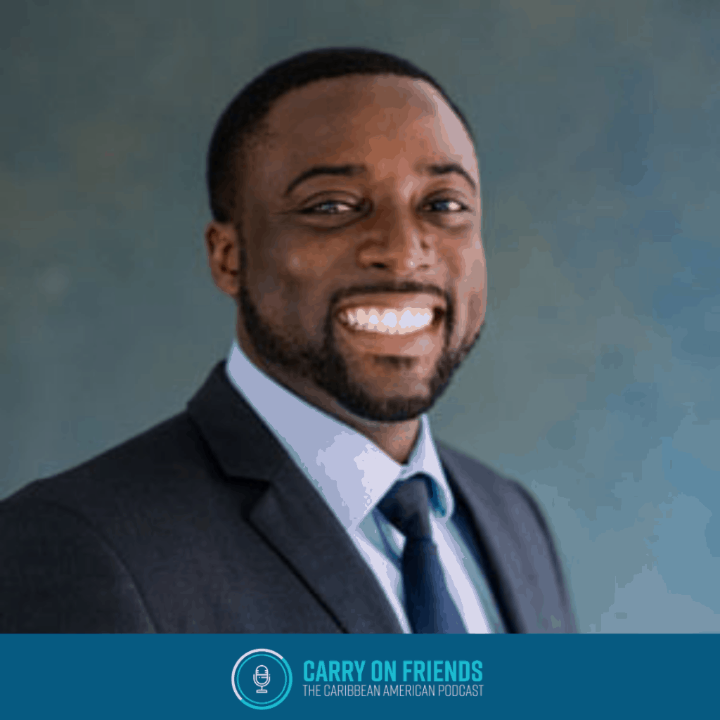 How to have difficult conversations with Kwame Christian on Carry On Friends The Caribbean American Podcast