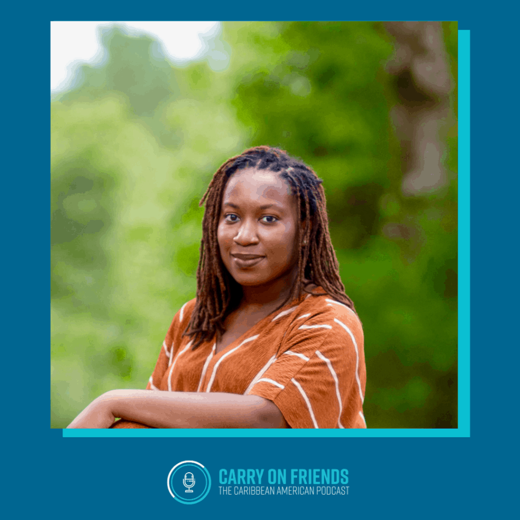 Alexandria Miller on Carry On Friends The Caribbean American Podcast
