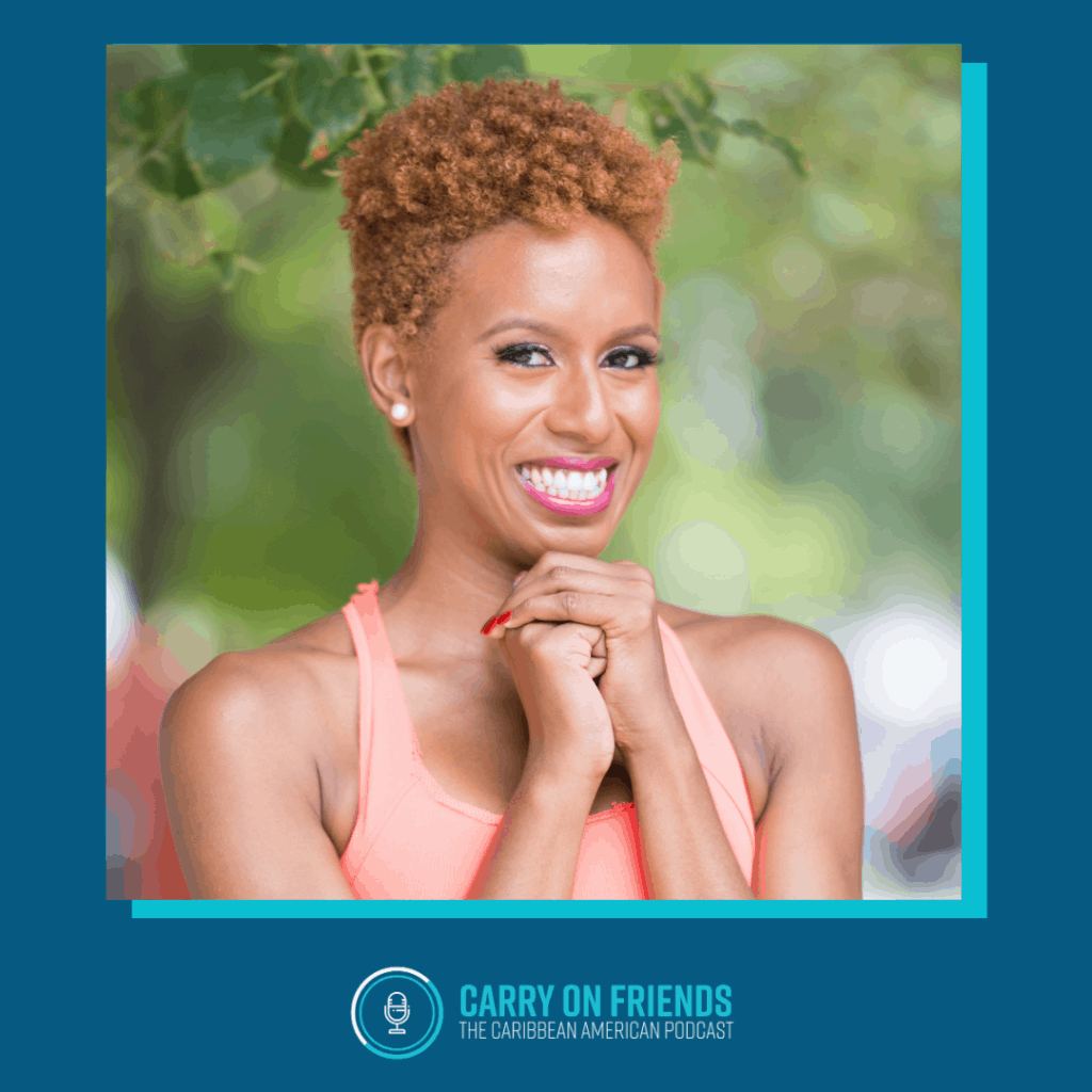 Candace Thompson Carry On Friends Podcast with Kerry Ann Reid Brown