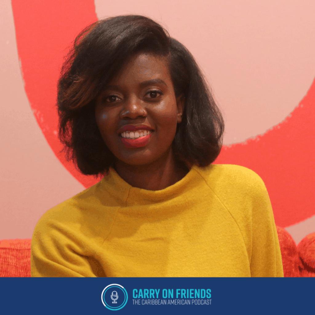 Rachel Osbourne of juliemangotv on Carry On Friends The Caribbean American Podcast