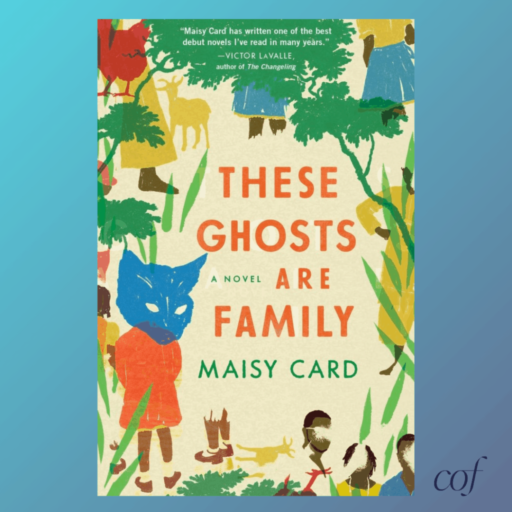 Cover of These Ghosts Are Family Carry On Friends Read & Carry On